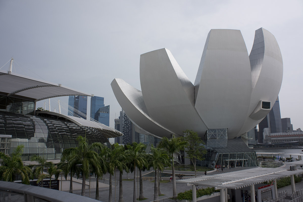 ArtScience Museum in Singapore