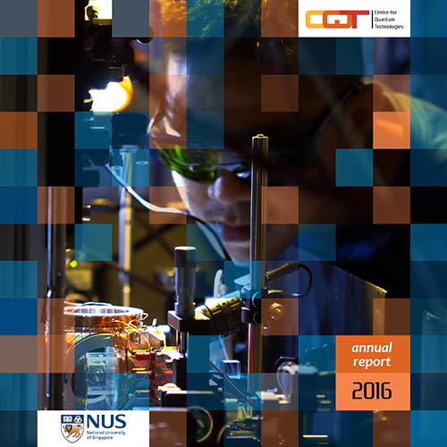 CQT Annual Report 2016, front cover.