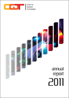 CQT Annual Report 2011, front cover.