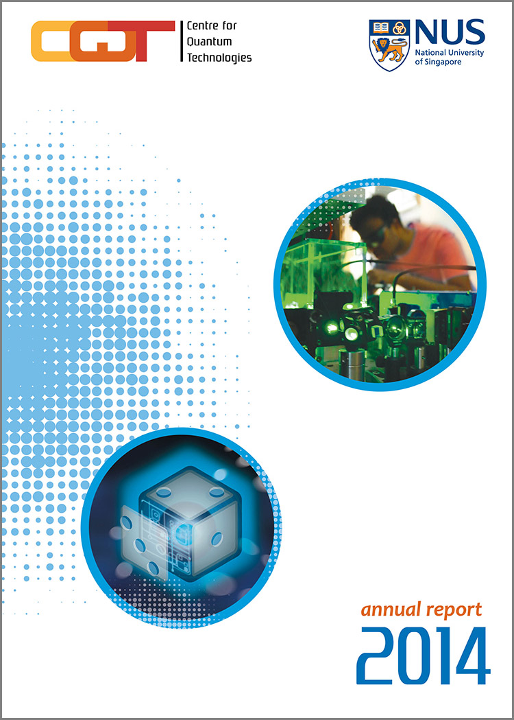 CQT Annual Report 2014, front cover.