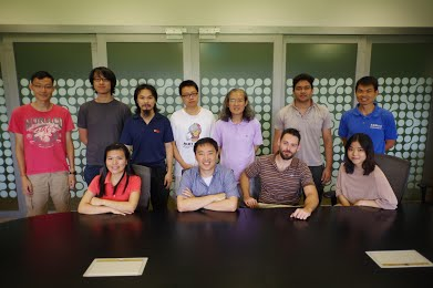 The research group of Alexander Ling at the Centre for Quantum Technologies in Singapore.