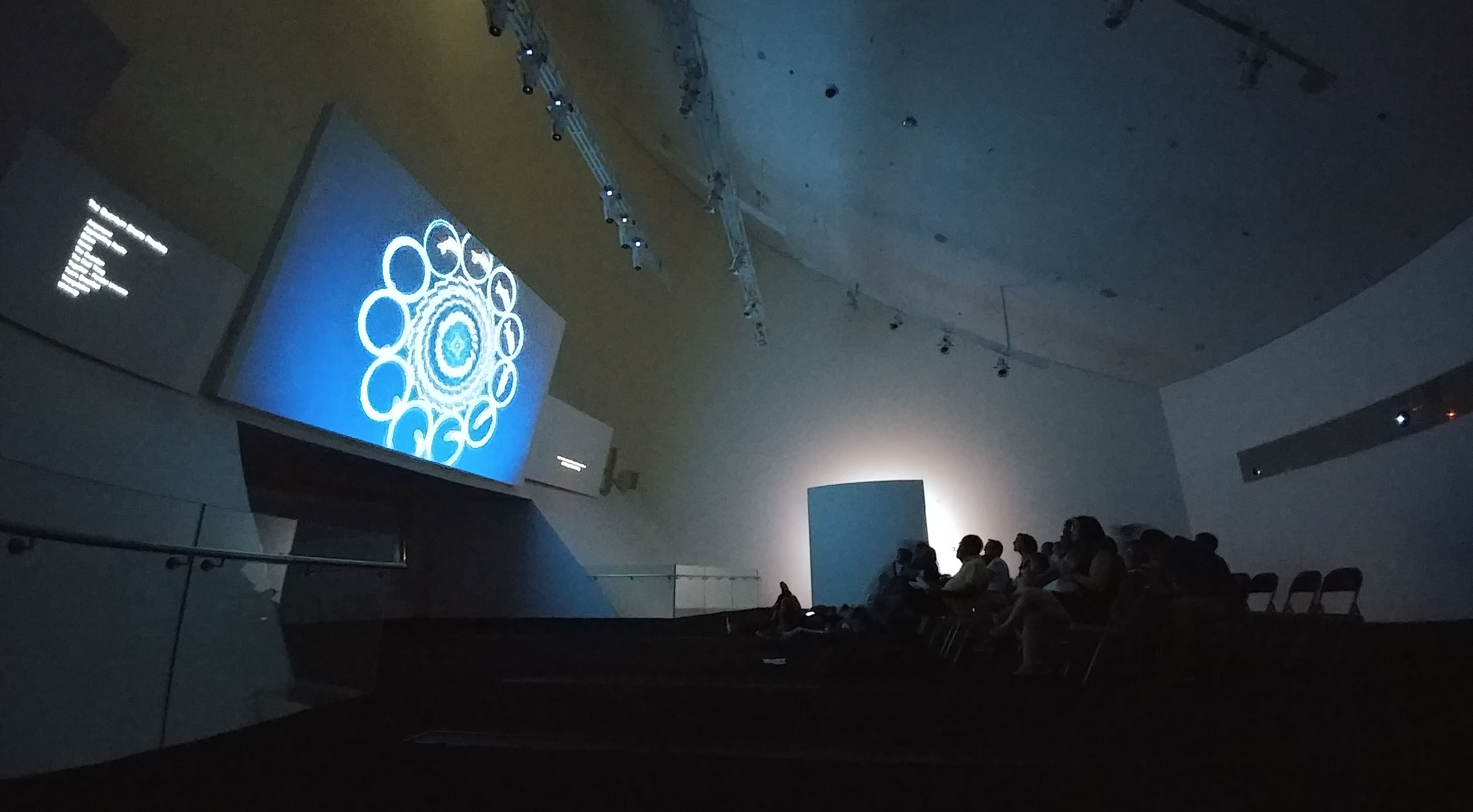 Quantum Shorts screening at ArtScience Museum, level 4 gallery