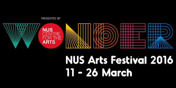 Logo for NUS Arts Festival 2016
