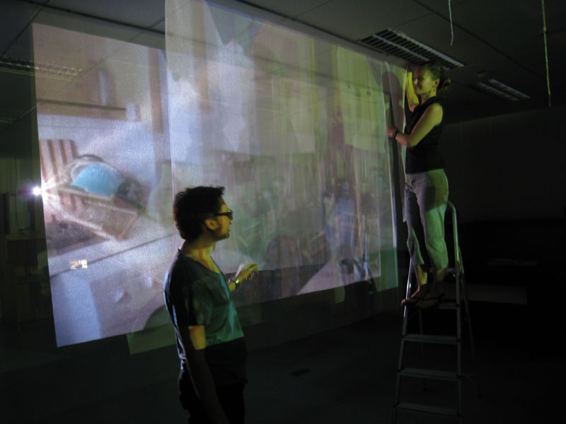 Photo of CQT artists-in-residence Linda Sim and Dario Lombardi