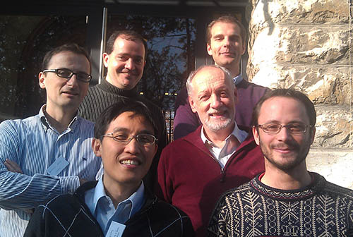 Photo of authors of Nature Physics paper 'Quantum nonlocality based on finite-speed causal influences leads to superluminal signalling'